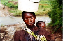 Karonga Woman and Child, Malawi, 2006.