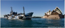 Sea Shepherd Ship, The Bob Barker, Arrives In Sydney,2011.