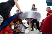 A Private Conversation During A Tibetan Ceremony. Sydney Harbour,2011.