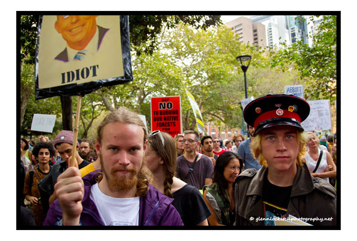 March In March, Sydney, 2014. © Glenn Lockitch 2014