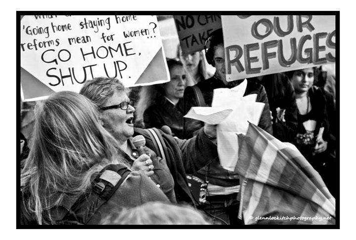 Save Our Refuges, Sydney, 29 August 2014.© Glenn Lockitch 2014