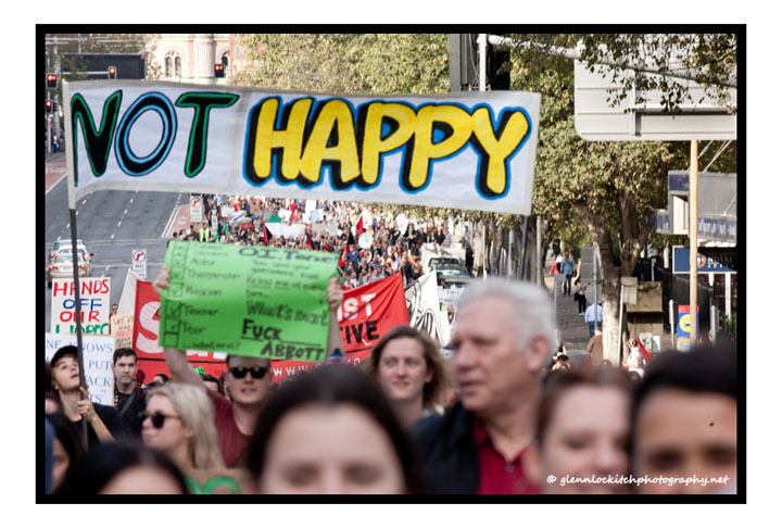 March In May, Sydney, 2014. © Glenn Lockitch 2014