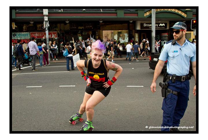 March In May, Sydney, 2014. © Glenn Lockitch 2014